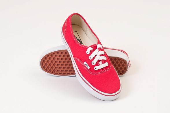 U Buty Vans Authentic red #35