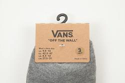 U VANS CLASSIC LOW (9 5-1 Heather Grey