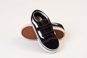 T Buty VANS Old Skool V black #8.5
