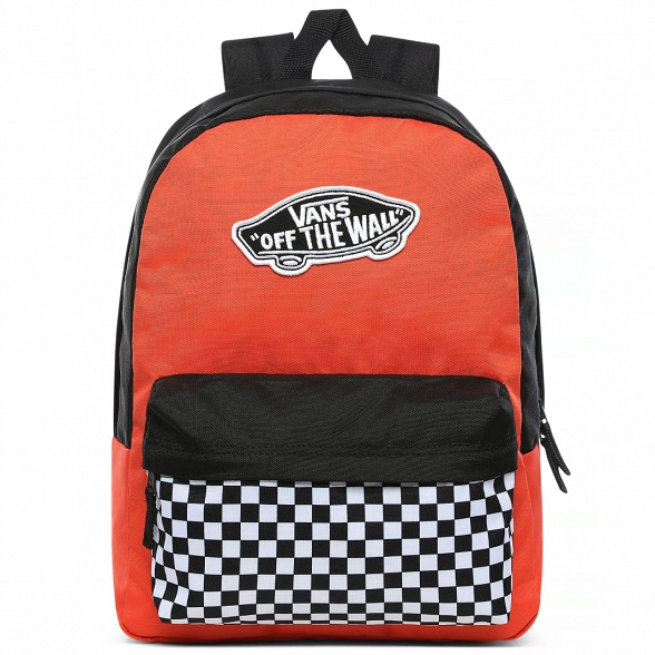 Plecak Realm Backpack Paprika/checker Vans VN0A3UI6ZKF1